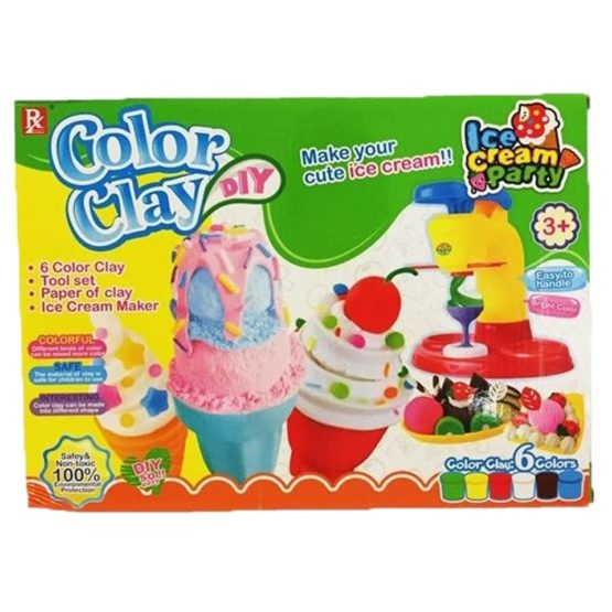 Color Clay DIY For CHildren
