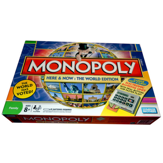 MONOPOLY WITH CARD MACHINE
