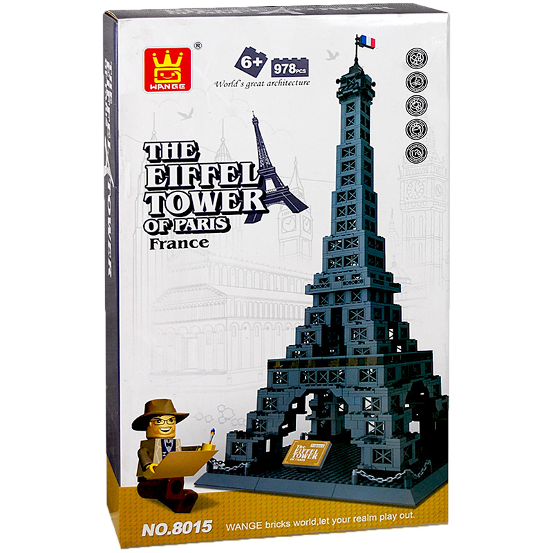 Building Toys Teens : Eiffel tower building blocks planet online toy