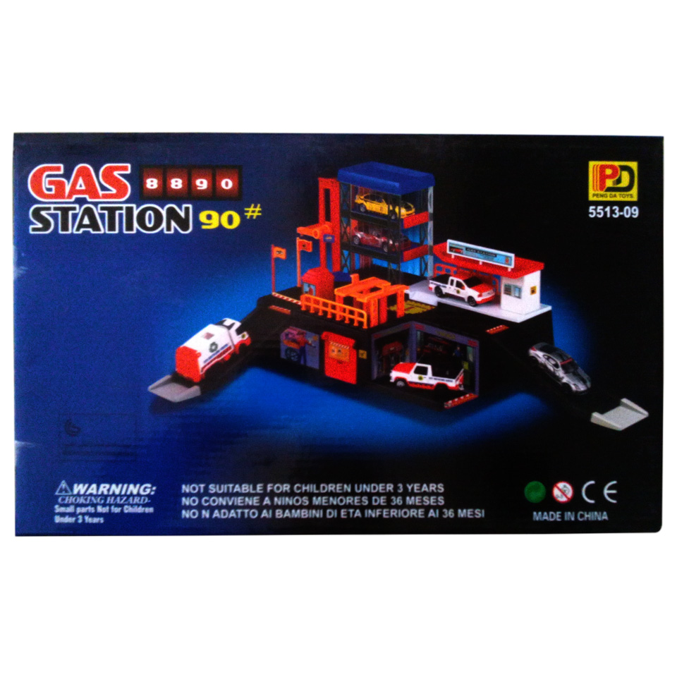 Gas Station Parking Play Set Planet X Online Toy Store