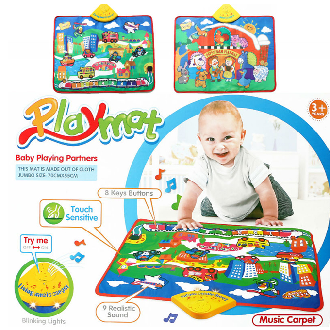 Baby Playmat Music Carpet Planet X Online Toy Store