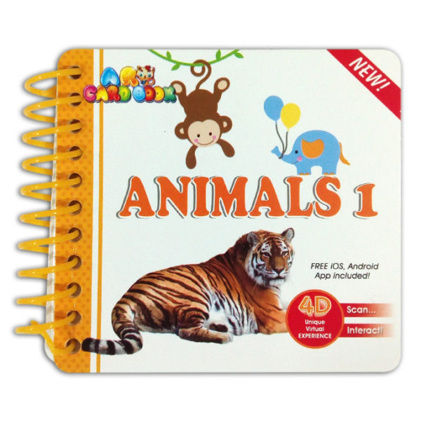 ANIMALS 1 - LEARNING CARD BOOK