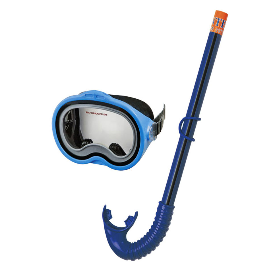 5b45d7ffbbd Intex - Adventurer Snorkel   Mask Swim Set Blue - Planet X