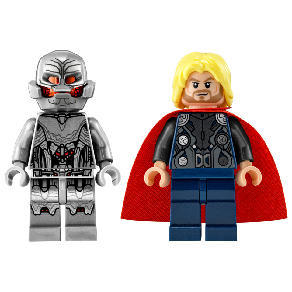Thor Vs Ultron - Lego Compatible