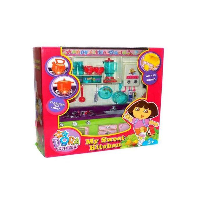Happy Dora Kitchen Set Planet X Online Toy Store For Kids