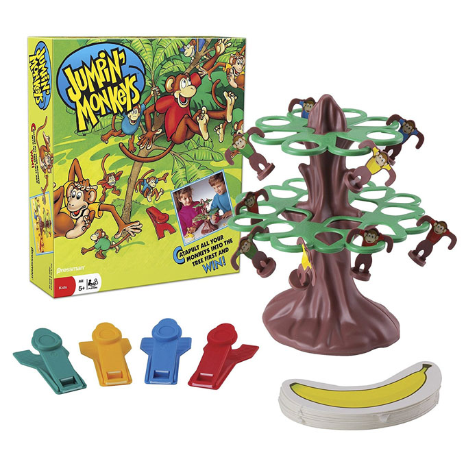 Toy Game Store In Lone Tree: Tree Top Jumping Monkeys Game - Planet X